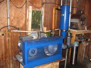 Équipement d'érablière pompe vaccuum de laval