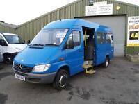 Mercedes-Benz SPRINTER 411 CDI 17 seat minibus **One owner 100k miles **