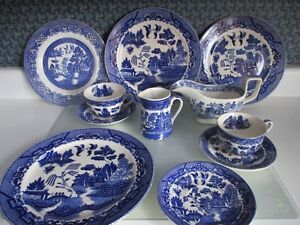 Blue Willow Dish Collection