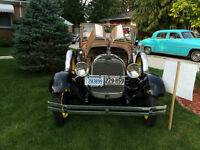 1929 Ford Model A Roadster - Completely restored - as original