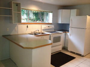 Gorgeous 2 bedroom suite 5 minutes to beach in Deep Cove!