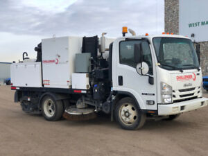3 Challenger Mechanical Street Sweepers for Sale!