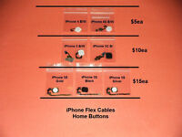 iPhone.... Flex Cables - Buttons - Speakers - Repair Parts