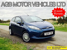 LATE 2009 FORD FIESTA 1.2 STYLE - CAMBELT + WATER PUMP CHANGED ZETEC OPTIONS