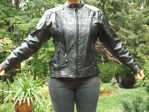 Ladies Motocycle Leather Jacket Gatineau Ottawa / Gatineau Area image 3