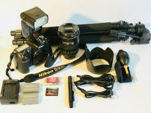Nikon D300, Lens, Tripod and more