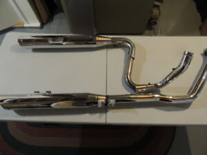 Vance and Hynes exhaust system for Vulcan Nomad 2005 to 2009