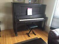 Piano Gulbransen for sale/ a vendre