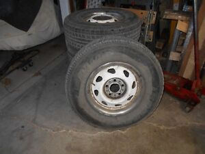235/75R15 Winter Tires with rims from Chev Blazer Regina Regina Area image 1