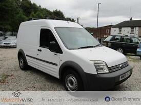 FORD TRANSIT CONNECT T230 L LWB 90 TDCI, White, Manual, Diesel, 2009 MOT JULY 18