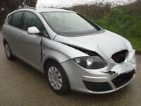 2013 Seat Altea XL 1.6TDI CR Ecomotive S DAMAGED SPARES OR REPAIR SALVAGE