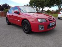 MG/ MGF ZR 1.4 105 - LONG MOT - AIR CON - CD PLAYER - HALF LEATHERS SEATS!