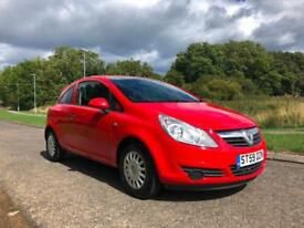 Vauxhall Corsa 1.0i (a/c) 2009 - COMES WITH 12 MONTHS MOT & 3 MONTHS WARRANTY!