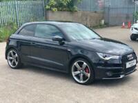 2013 Audi A1 1.4 TFSI Black Edition S Tronic 3dr Hatchback Petrol Automatic