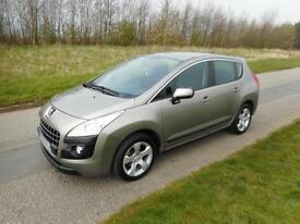2010 Peugeot 3008 Sport 1.6 HDi, Diesel, Manual. ONLY 31K MILES