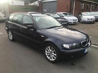 BMW 318 2.0 Auto i SE Touring 2004/54 ONLY 118K + 12 MONTHS MOT