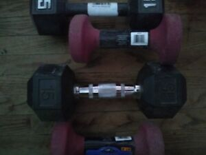 Selling Dumbells for a fair price! Good Deal!