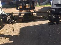Mercedes 1820 front axle