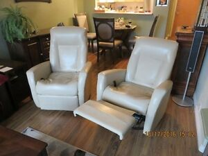 2 matchng recliner/rockers for sale