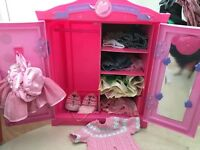 Build a bear outfits and Cupboard
