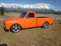 1969 chev c10 pro touring hot rod