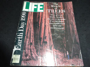Life May 1990 Earth Day Magazine