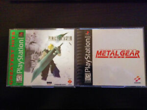FINAL FANTASY 7 ET METAL GEAR SOLID