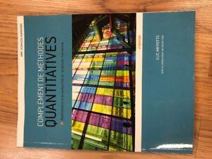 Livres d'école  en science humaine au cégep!