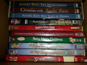 Christmas movie collection 10 DVD's & others too - L@@k READ AD