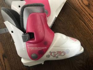 Techno Pro G40 Junior Alpine Ski Boots - Made in Italy