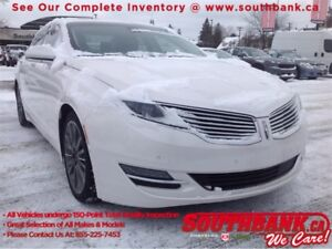 2016 Lincoln MKZ Hybrid, Ventilated and Heated Seats, NAV, Backu