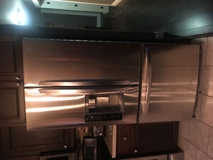 LG stainless steel appliances