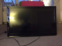 Hitachi 42 inch freeview tv wall mounted