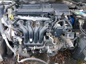 Mazda 2 1350 engine complete 2012