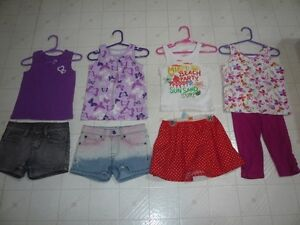 Girls Size 4 Spring and Summer Clothing  (All Brand Name)