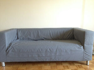 Moving sale! IKEA-sofa,foundation and table, in great condition!