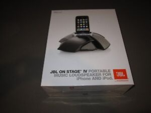 JBL on Stage 4 Portable Music