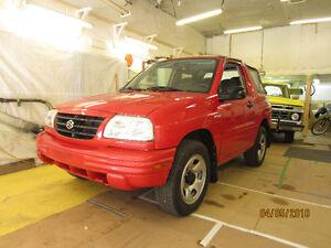 2001 Suzuki Vitara tissus Cabriolet