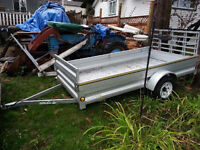 7 Month Old Utility Trailer for Sale!