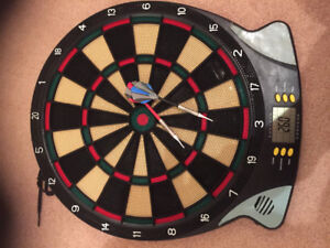Dartboard with darts for sale