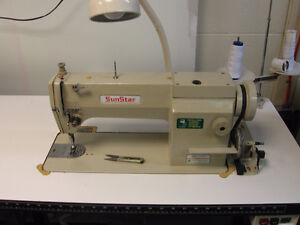3 Industrial 1 domestic Sewing Machines