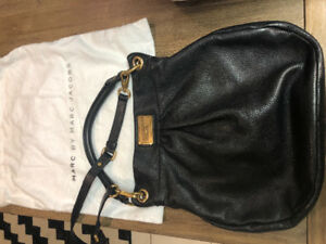 Marc Jacobs Hillier Hobo Black EUC