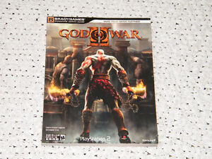 Strategy Guide God of War 2 II Signature Series