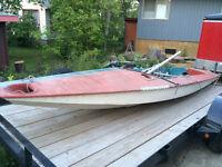 Fireball parts sailboat