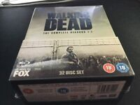 The Walking Dead Seasons 1-7