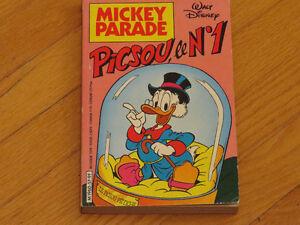 BD    MICKY PARADE NO 57/PICSOU #1 /DISNEY littérature