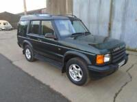 2000 Land Rover Discovery 2.5Td5 ( 7 st ) Auto Td5 ES (7 seat) 84000 Miles
