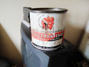 RARE RED INDIAN 5 POUND GREASE TIN