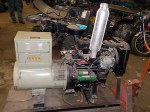 22 HP DIESEL ENGINE HEAVY DUTY STATIONARY ENGINE NEAR NEW