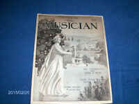 THE MUSICIAN-10/1911-VOL. 16-NO. 10-VINTAGE BACK ISSUE-COMPLETE!